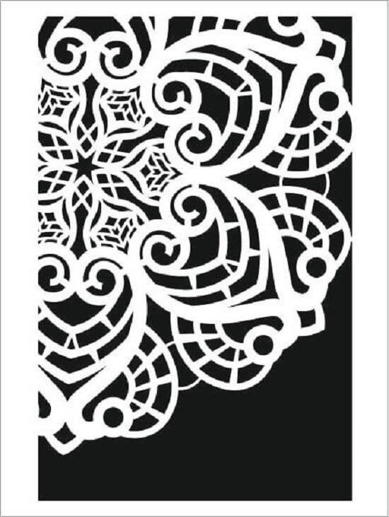 Cadence Arkaplan Stencil NBS-17 (15x20)