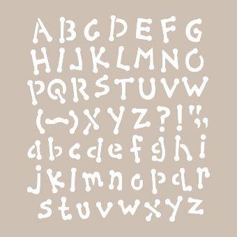 AS426 - A4 Stencil