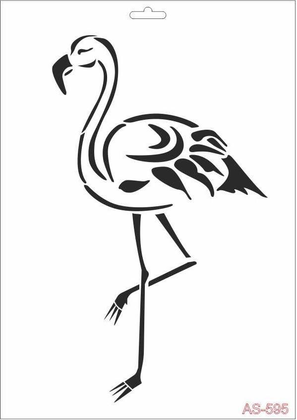 Flamingo Cadence A4 Stencil AS595