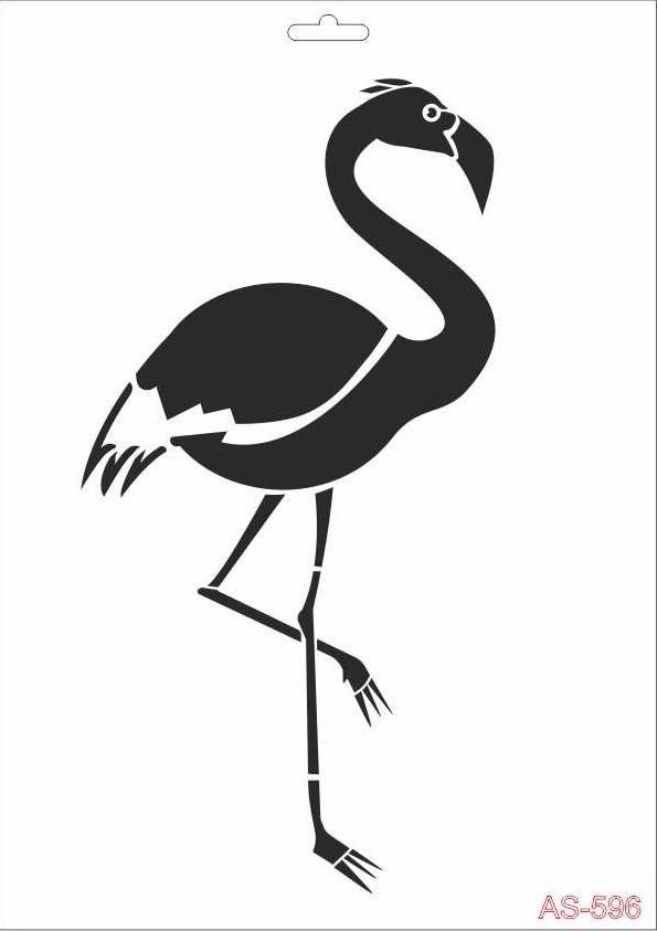 Flamingo Cadence A4 Stencil AS596