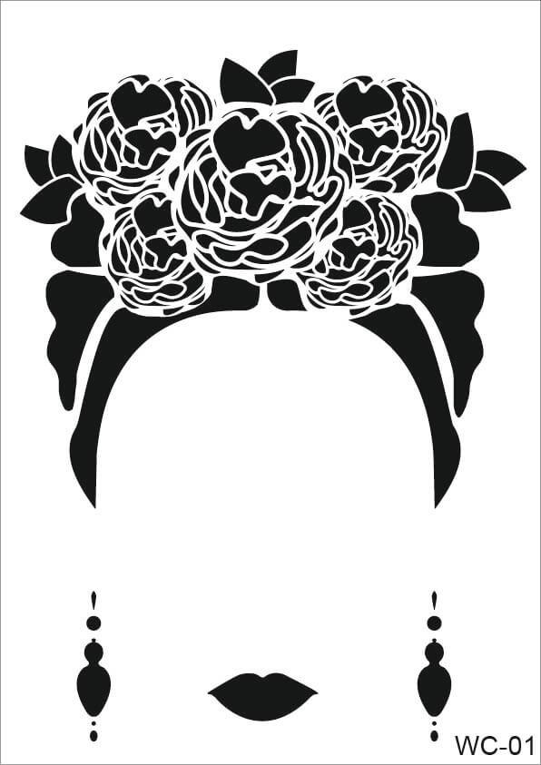 Frida Model Cadence A4 Stencil WC01