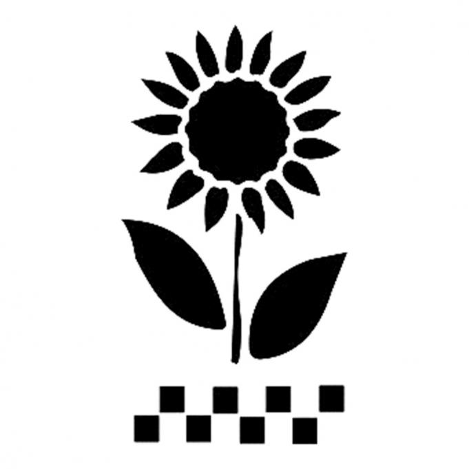Cadence Ayçiçeği Stencil D48 15*20 Boyut