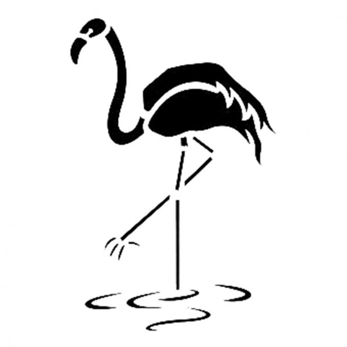 Cadence Flamingo Stencil D115 15*20 Boyut