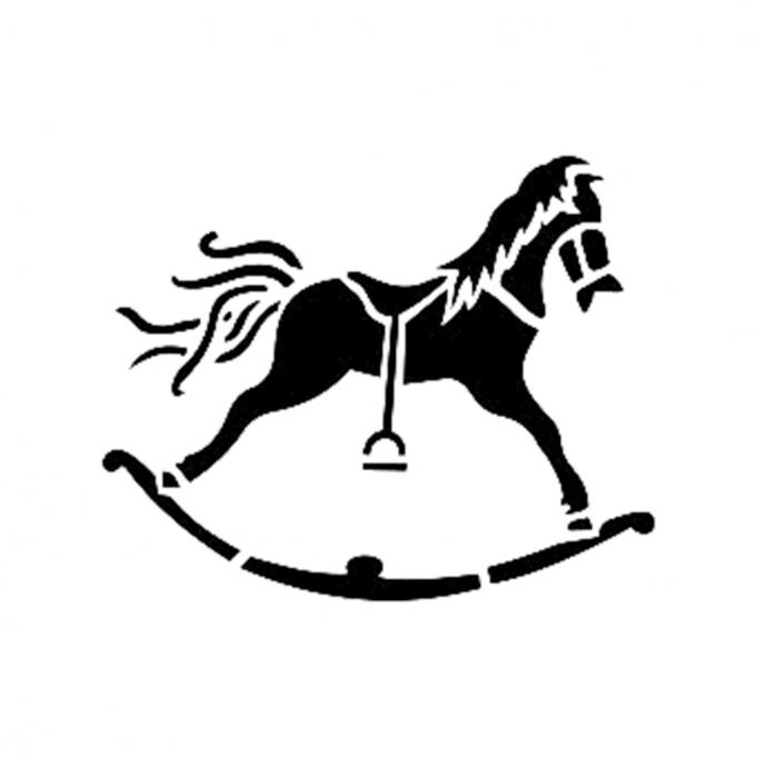 Cadence Pony Stencil D186 15*20 Boyut