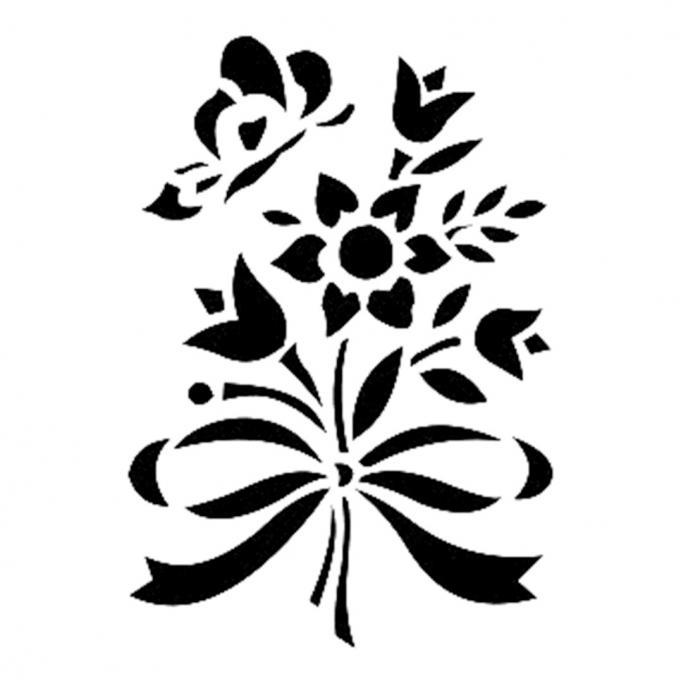 Cadence Stencil | Cadence Boya | Cadence Fırça | kelebek
