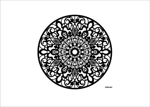 Cadence Dantel Stencil Kenarlıksız YDSK-07 (35x35)