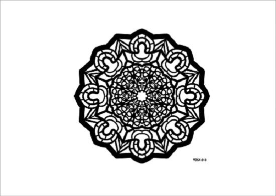 Cadence Dantel Stencil Kenarlıksız YDSK-13 (35x35)