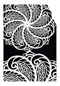 Cadence Dekoratif Stencil DC-04 ( 15 x 20 )