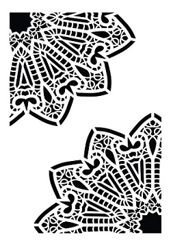 Cadence Dekoratif Stencil DC-05 ( 15 x 20 )