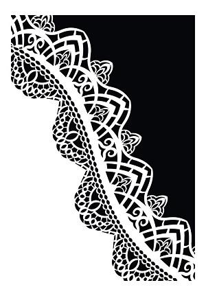 Cadence Dekoratif Stencil DC-34 ( 15 x 20 )