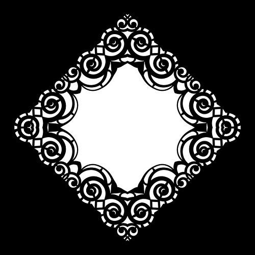 Cadence Dekoratif Stencil DCS-17 ( 30 x 30 )
