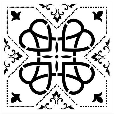 Cadence Fayans Stencil TCS-14 (30 x 30)