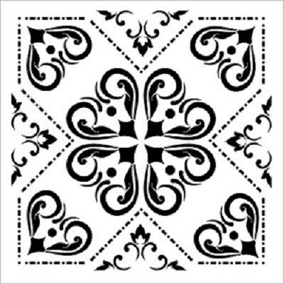 Cadence Fayans Stencil TCS-15 (30 x 30)