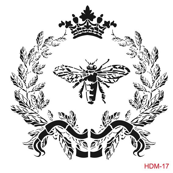 Cadence Home Dekor Stencil HDM017 ( 25 x 25 )
