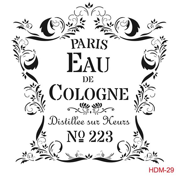 Cadence Home Dekor Stencil HDM029 ( 25 x 25 )