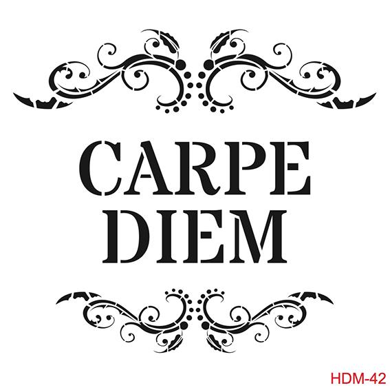 Cadence Home Dekor Stencil HD042 ( 45 x 45 )