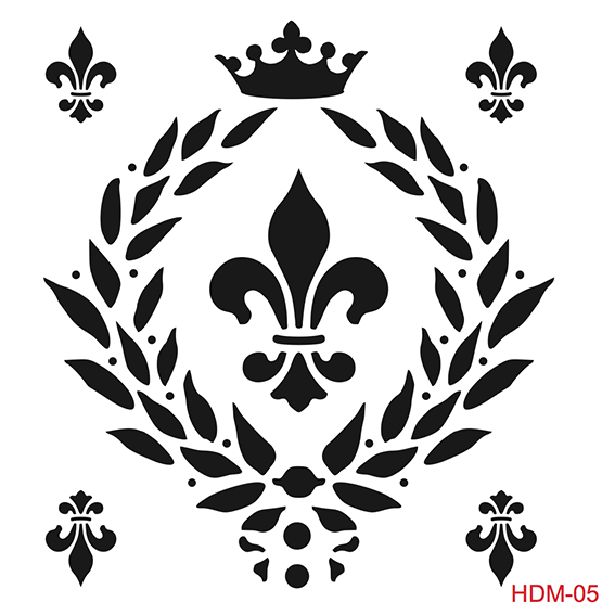 Cadence Home Dekor Stencil HDM005 ( 25 x 25 )