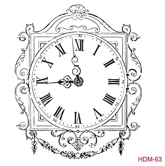 Cadence Home Dekor Stencil HDM063 ( 25 x 25 )