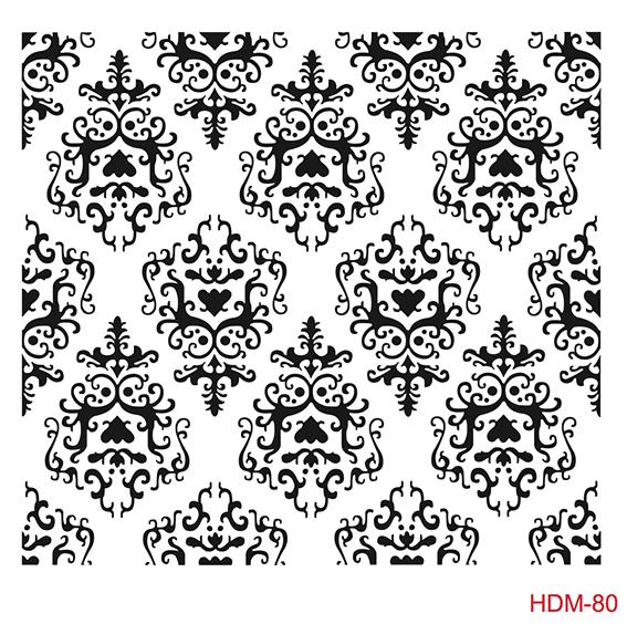 Cadence Home Dekor Stencil HD080 ( 45 x 45 )