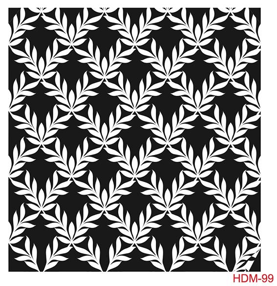 Cadence Home Dekor Stencil HDM099 ( 25 x 25 )