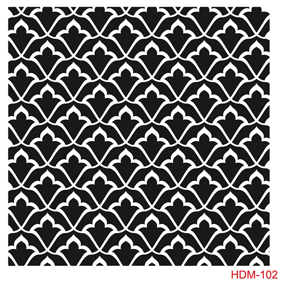 Cadence Home Dekor Stencil HD102 ( 45 x 45 )