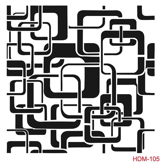 Cadence Home Dekor Stencil HD105 ( 45 x 45 )