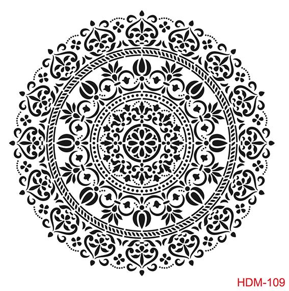 Cadence Home Dekor Stencil HD109 ( 45 x 45 )