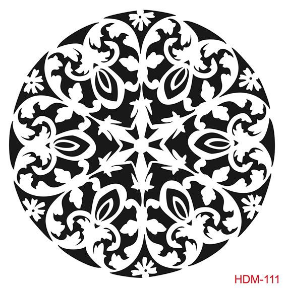 Cadence Home Dekor Stencil HD111 ( 45 x 45 )