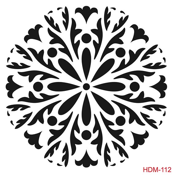 Cadence Home Dekor Stencil HD112 ( 45 x 45 )