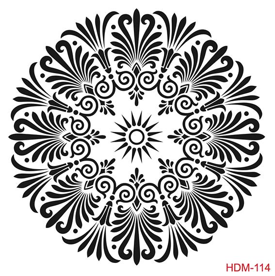 Cadence Home Dekor Stencil HD114 ( 45 x 45 )
