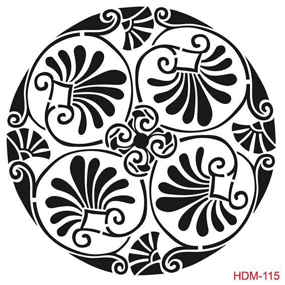 Cadence Home Dekor Stencil HDM115 ( 25 x 25 )