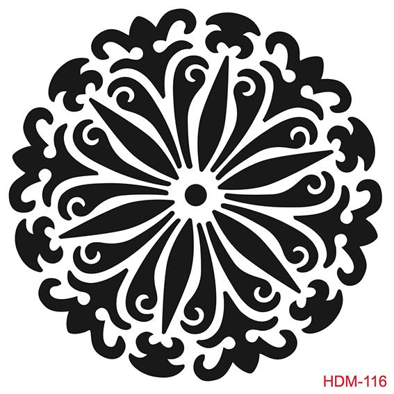 Cadence Home Dekor Stencil HD116 ( 45 x 45 )