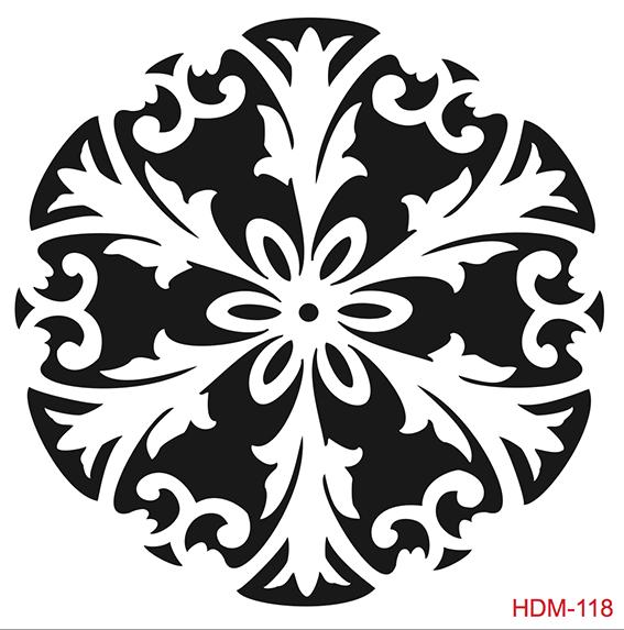 Cadence Home Dekor Stencil HDM118 ( 25 x 25 )