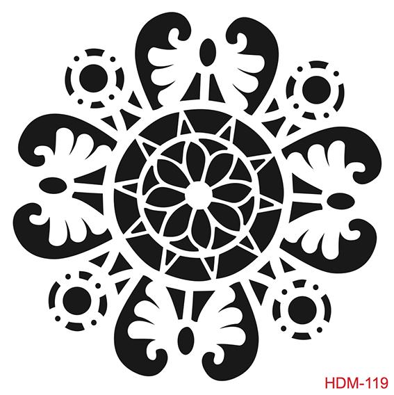 Cadence Home Dekor Stencil HDM119 ( 25 x 25 )
