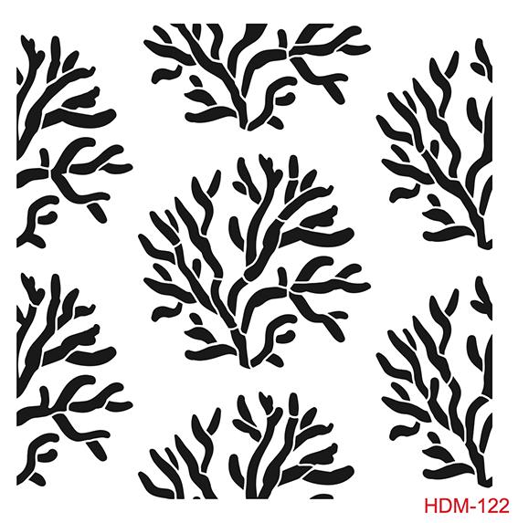 Cadence Home Dekor Stencil HDM122 ( 25 x 25 )
