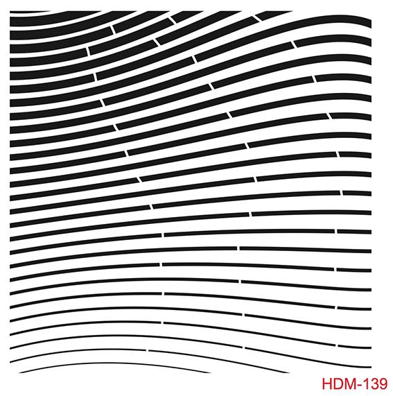 Cadence Home Dekor Stencil HDM139 ( 25 x 25 )