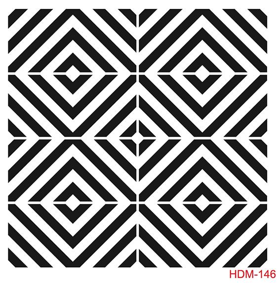 Cadence Home Dekor Stencil HDM146 ( 25 x 25 )