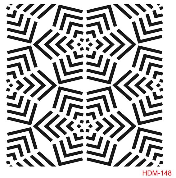 Cadence Home Dekor Stencil HDM148 ( 25 x 25 )