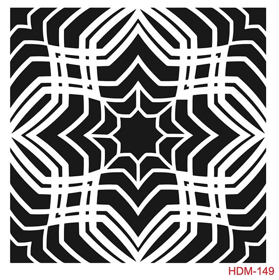 Cadence Home Dekor Stencil HD149 ( 45 x 45 )