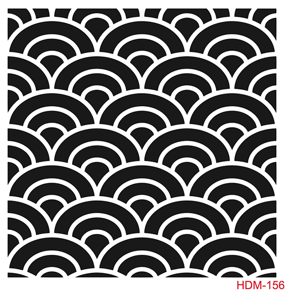Cadence Home Dekor Stencil HDM156 ( 25 x 25 )