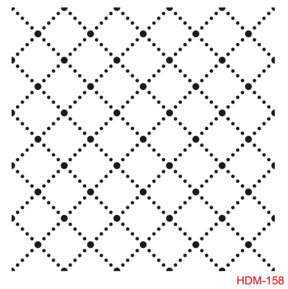 Cadence Home Dekor Stencil HD158 ( 45 x 45 )