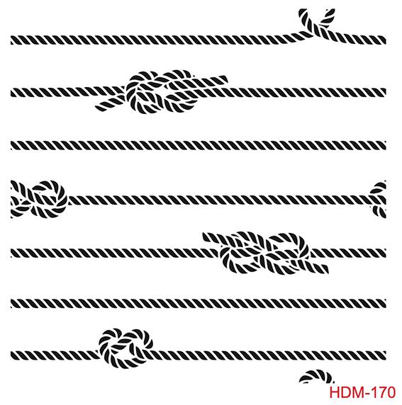 Cadence Home Dekor Stencil HD170 ( 45 x 45 )