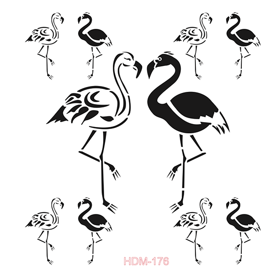 Cadence Home Dekor Stencil HD176 ( 45 x 45 )