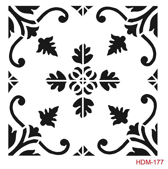 Cadence Home Dekor Stencil EHD16 ( 45 x 45 )