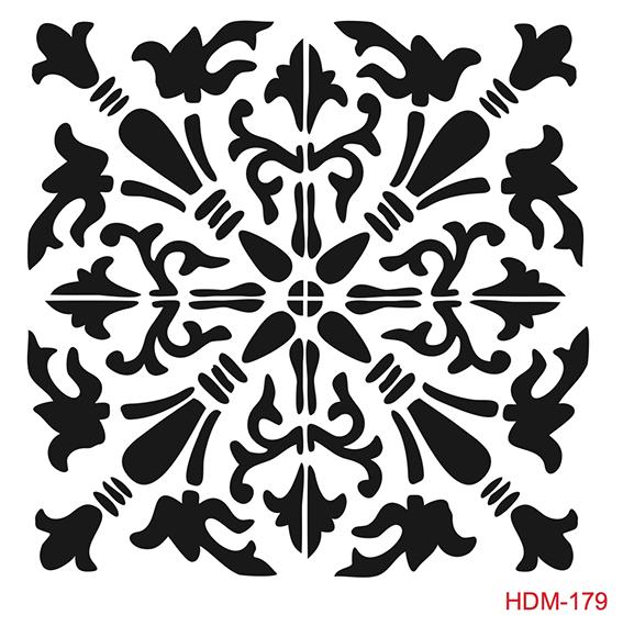 Cadence Home Dekor Stencil HDM179 ( 25 x 25 )
