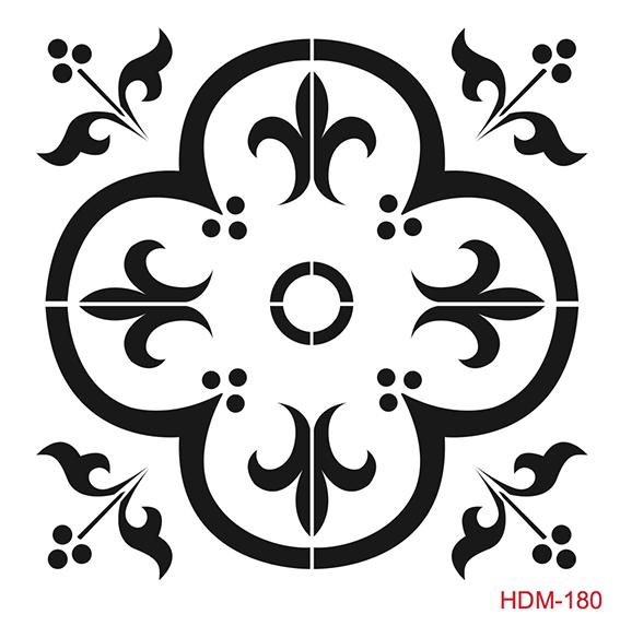 Cadence Home Dekor Stencil HD182 ( 45 x 45 )
