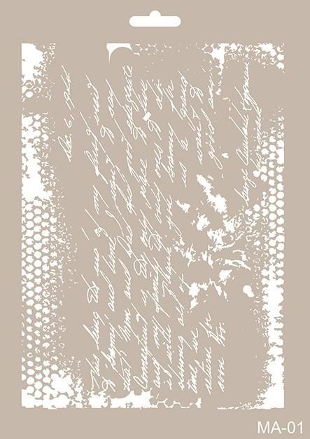 MA01 Mix Media Stencil