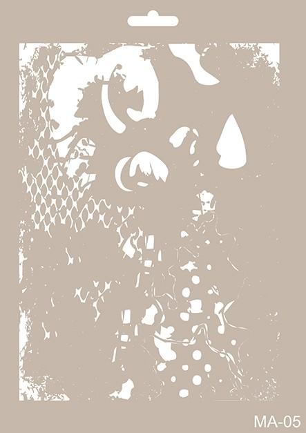 MA05 Mix Media Stencil