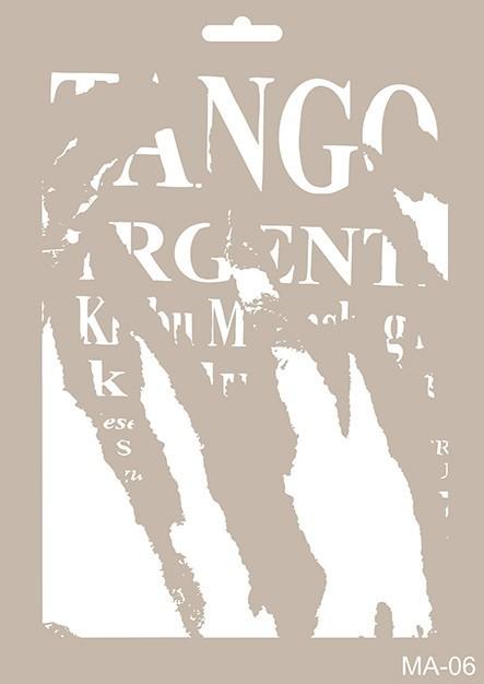 MA06 Mix Media Stencil