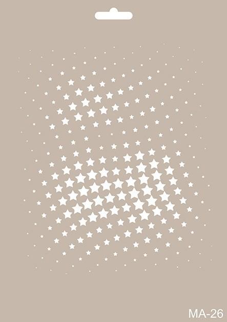 MA26 Mix Media Stencil